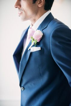 Navy Groom Suit | photography by http://melissagidneyphoto.com