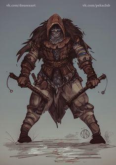 ArtStation - Northern Assassin (The Regent), Vladimir Kiselev