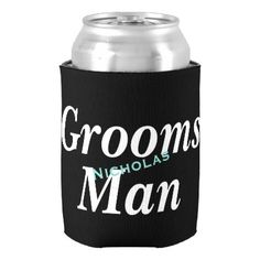 #bridal - #BRIDE & CO Groomsman Party Insulated Can Cooler