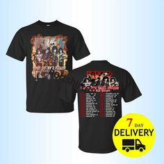 Kiss Band End of The Road Tour 2019 T SHIRT S-5XL MENS TEE T shirt Limited   fashion  clothing  shoes  accessories  mensclothing  shirts (ebay link) 01e5a04eba