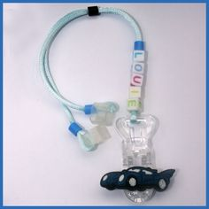 Louie Car Personalized Hearing Aid Retainer
