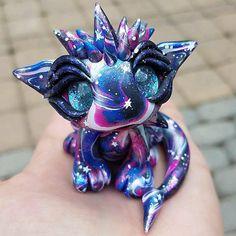 Made to order dragon galaxy dragon baby dragon starry