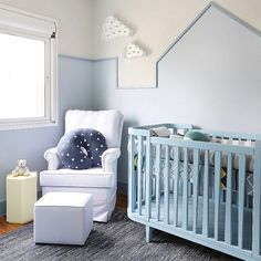 Blue Rooms Cot Baby Boy Nursery Room S Stay Alone