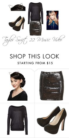 """""""Taylor swift 22 Music Video"""" by born2shine ❤ liked on Polyvore featuring Benetton"""