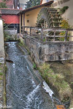 Water Mill in Nördlingen, Germany