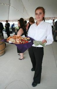 Wedding reception catering by Alexander's Contemporary Cuisine & Fine Spirits | Fish Creek, Door County