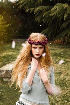 Garden Hippie Editorials - The Urban Magazine May 2012 Photoshoot Stars a Romantic Klara Gro (GALLERY)