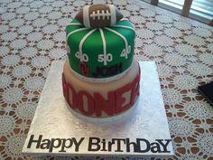 OU Cake...very cute!