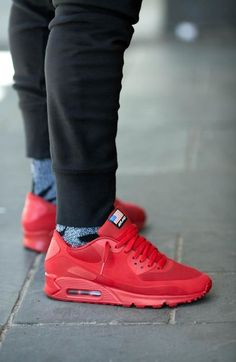 056ac5b7809 Nike Air Max 90 Hyperfuse   Independence Day  Red Nike Outfits
