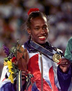 Jackie Joyner-Kersee wins bronze at her final Olympics in 1996.