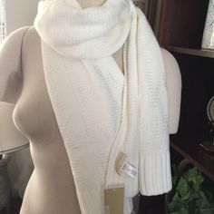Michael Kors Logo Scarf. NWT Bundle up with a Michael Kors logo imprint scarf for women. Model number 536577. Michael Kors Accessories Scarves & Wraps