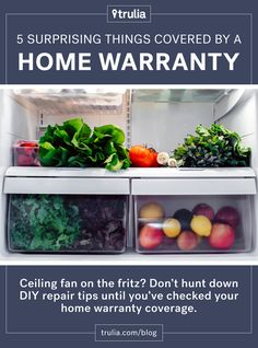 5 Surprising Things Covered by a Home Warranty
