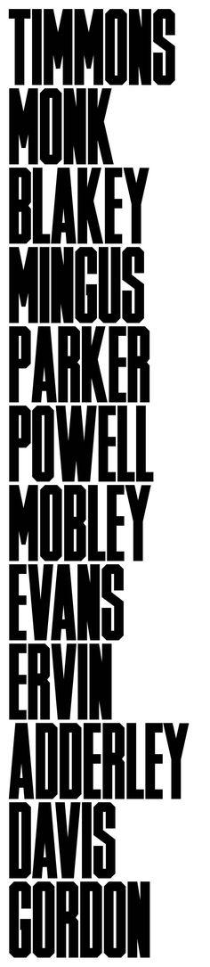 Timmons Typeface - Matt Willey