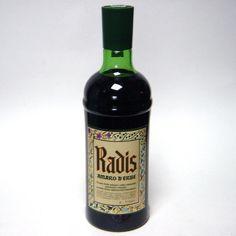 Vecchia bottiglia amaro radis 1,5 lt. collezione idea regalo collezionismo