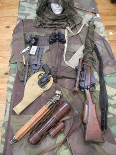 British sniper loadout ww2