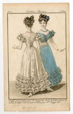 Women 1825 Plate 2369 Costume Institute Fashion Plates