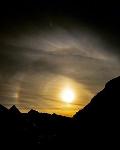 """A """"Sun Dog"""" is a pretty cool natural phenomenon. Happy I got the chance to capture one last night!  Have you ever seen one? by entwistlephoto"""