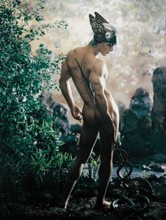 ☆ Mercury:→ God of trade, thieves, and travel.。Artist Pierre et Gilles ☆