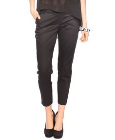 F21 Essential ankle pants