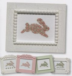 JBW Designs Bunny Collection Cross Stitch Pattern