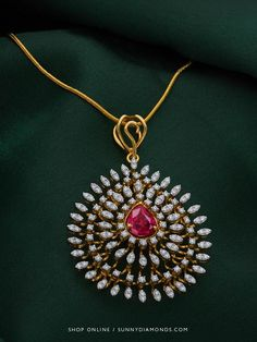 So if you think impressions matter more than opinions, then you might need this #Ruby studded #InternallyFlawless #DiamondPendant Winifred Diamond Pendant