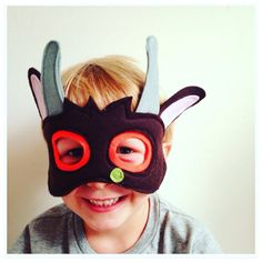 Gruffalo Costume Kids Gruffalo Mask Felt by RobinsBobbinsCrafts