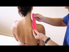 How to treat neck pain - Trapezius and Levator Scapulae pain - Kinesiology Taping - YouTube