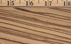 zebrano texture