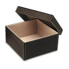 Está #caja es ideal para regalo para #Oficina.  #Leather #artisan #Handmade #Handcraft #Gift #RegalosEnPiel #RegalosOriginales #Regalo #surprise