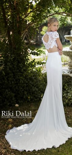 Wedding Dress by Riki Dalal - Provence Collection
