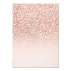 Faux rose gold glitter ombre 21st Birthday Card
