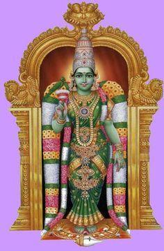 Meenakshi is an avatar of the Goddess Parvati, the divine consort of Sundareswarar (Shiva) and is considered to be the sister of God Vishnu. Indian Goddess, Goddess Lakshmi, Divine Goddess, Mother Goddess, Madurai, Om Namah Shivaya, Lord Shiva, Lord Krishna, Ganesha