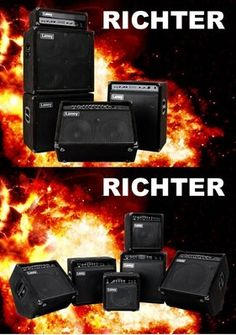 Laney RB series. Great value amps with big bottom-end!