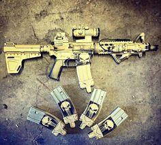 MK18 Mod 0 pistol AR with Shockwave.