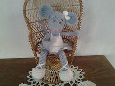 petite souris ballerine amigurumi : Accessoires de maison par stella1957