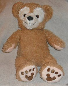 "Disney Store Duffy the Disney Bear Plush 8"""