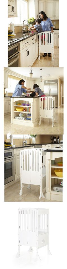 Stools 134650: Guidecraft Contemporary Kitchen Helper: White  U003e BUY IT NOW  ONLY:
