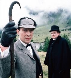The Final Problem - Sherlock Holmes (Jeremy Brett) and Professor Moriarty (Eric Porter)