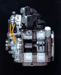 Mazda rotary engine. Sad that they have stopped making them.