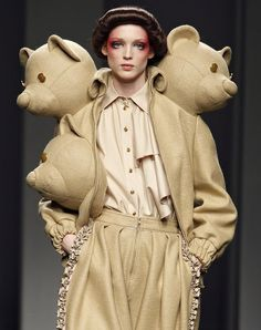 Wondering where I can get my own coat with decapitated bear heads?