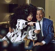 #LadyGaga et #TonyBennett égéries de la nouvelle campagne H&M. http://wp.me/p4Ngzk-kM