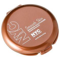 "NYC Smooth Skin Bronzing Powder - Sunny (matte, DUPE benefit hoola bronzer Meg O., rec Julie Dawn, emilynoel - ""a very light bronzer"")"