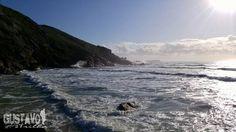 Beatiful. #sunrise #beach #praia #sea #oceano #ocean #mar #waves #surf #reflection #praiamole #joaquina #lagoadaconceicao #hike #backpacking #trilha #nature #gustavonatrilha #hiking  #photooftheday #followme #follow #love #beautiful #like #picoftheday #instadaily #igers #instalike