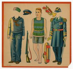 78.14090: paper doll | Paper Dolls | Dolls | National Museum of Play Online Collections | The Strong