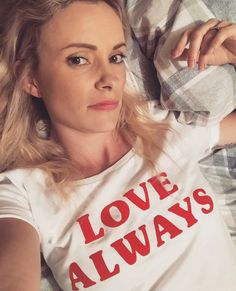 These white tees are organic cotton, they are so super soft! There is a two week turnaround on these tees. Love Always, White Tees, Organic Cotton, T Shirts For Women, Lady, Collection, Tops, Fashion, Moda