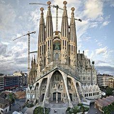 Sagrada Familia by Antony Gaudi / Barcelona …