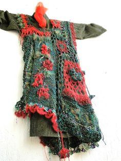 Mizzie Morawez! I love her freeform crochet. NO PATTERN. Inspiration only.