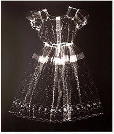 Karen Savage photograms of textiles