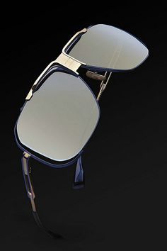 69c838e8f18e The Dita Cascais in Navy and Gold Eyewear
