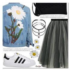 """""""Daisy"""" by asteroid467 ❤ liked on Polyvore featuring adidas, polyvorecommunity, polyvoreOOTD and PolyvoreMostStylish"""